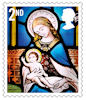 Christmas 2020 2nd Stamp (2020) St Andrew's Church, East Lexham, Norfolk.