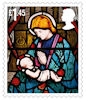 Christmas 2020 £1.45 Stamp (2020) Church of St James, Hollowell, Northamptonshire.