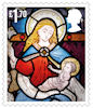 Christmas 2020 £1.70 Stamp (2020) All Saints' Church, Otley, West Yorkshire.