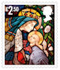 Christmas 2020 £2.50 Stamp (2020) St Columba's Church, Topcliffe, North Yorkshire.