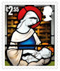 Christmas 2020 £2.55 Stamp (2020) Christ Church, Coalville, Leicestershire.