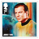 Star Trek 1st Stamp (2020) James T Kirk
