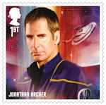 Star Trek 1st Stamp (2020) Jonathan Archer