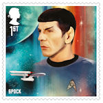 Star Trek 1st Stamp (2020) Spock