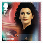 Star Trek 1st Stamp (2020) Deanna Troi