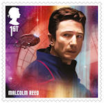 Star Trek 1st Stamp (2020) Malcom Reid