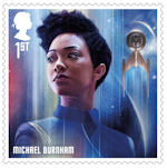 Star Trek 1st Stamp (2020) Michael Burnam