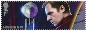 Star Trek 1st Stamp (2020) Montgomery Scott