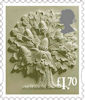 New Country Definitive Stamps 2021 £1.70 Stamp (2020) England