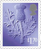New Country Definitive Stamps 2021 £1.70 Stamp (2020) Scotland